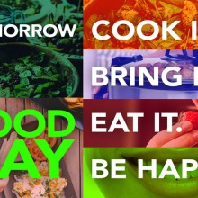 Poster for Food Day Event